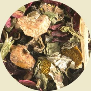 Faerie's Blood fruit and herbal blend