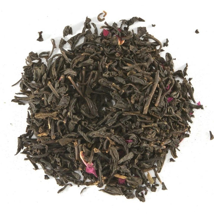 Rose Pouchong flavoured tea