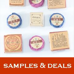 Samples & deals